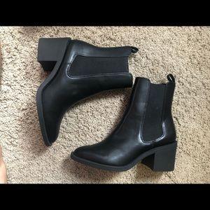 Black HM booties